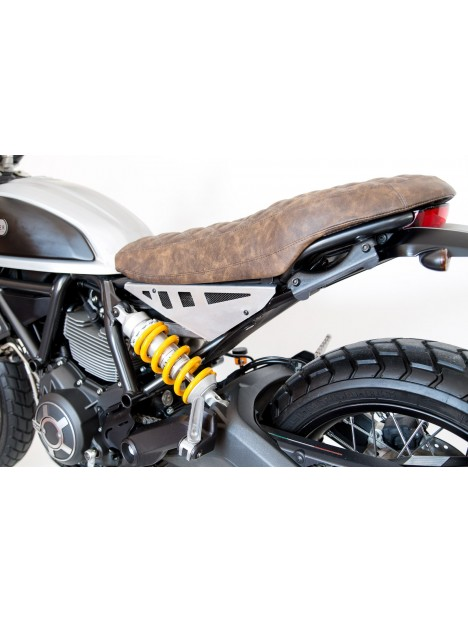 """Seitenabdeckung Aluminium sattel Slim Typ """"Essential"""" Ducati Scrambler"""
