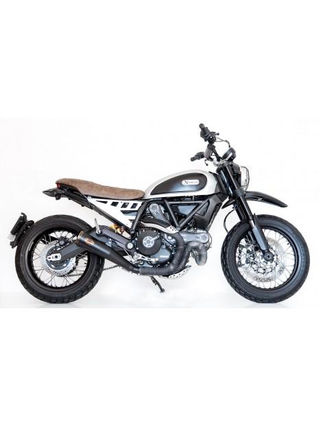 "Panneau lateral aluminium pour selle slim ""Essential"" Ducati Scrambler"