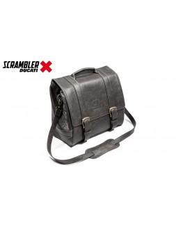 """Saddle bag Messenger """"Vintage style"""" Ducati Scrambler - Left side"""