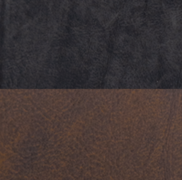 Schwarzes/Braunes Leder  - ALP#001/ALP#005